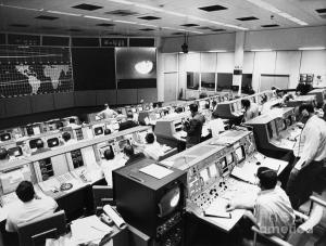 Apollo-era Mission Control. Not going to lie, this is not unlike how I picture the creation of an MCB. (Source: www.fineartamerica.com)