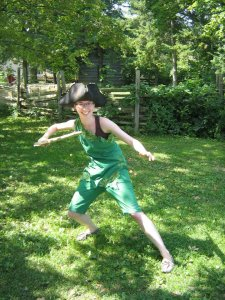 I was a *good* Peter Pan...