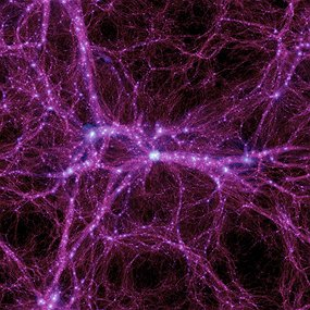 Galaxy filaments. This is how it feels, sometimes.