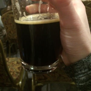 There was also some very nice beers, like this Coal Porter from the Atlantic Brewing Co.