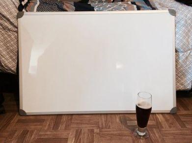 I got a BIG whiteboard. It's been fabulous.