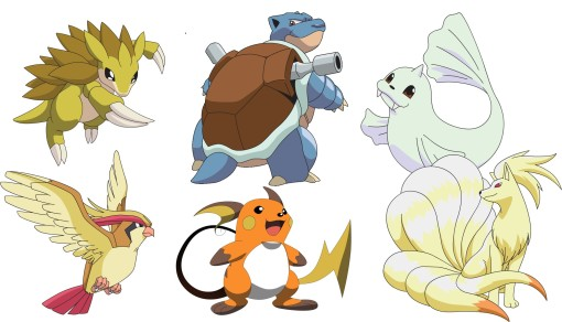 It's like how you need a balanced Pokemon team. Here was mine, the last time I played Leaf Green.