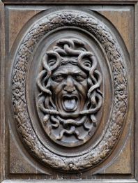 Wooden door panel. Thomas Regnaudin, ca. 1660.