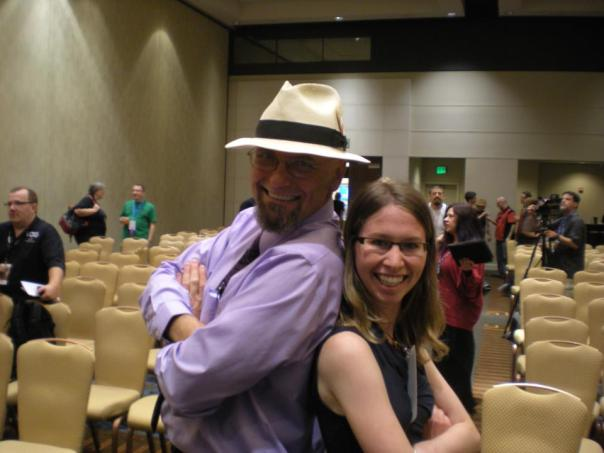 Meeting Dave Robison at the 2012 Parsecs.