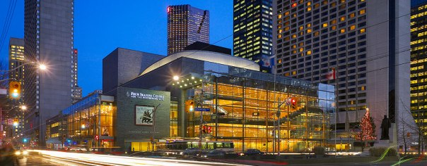 The Four Seasons Centre for the Performing Arts: the glass staircase is still one of my favourite spots in Toronto.